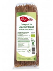 ESPAGUETIS ESPELTA INTEGRALES BIO 500GR - EL GRANERO INTEGRAL - 8422584018103