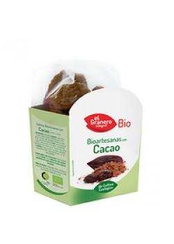 GALLETA ARTESANA CON CHOCOLATE 220GR BIO - EL GRANERO INTEGRAL - 8422584030754