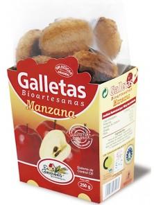 GALLETAS BIOARTESANAS MANZANA 250GR - EL GRANERO INTEGRAL - 8422584030471