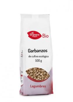 GARBANZOS BIO 500GR - EL GRANERO INTEGRAL - 8422584018035