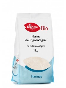 HARINA DE TRIGO INTEGRAL BIO 1KG - EL GRANERO INTEGRAL - 8422584018042
