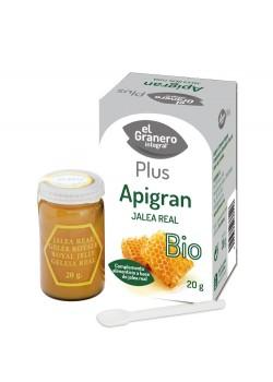 JALEA REAL FRESCA APIGRAN 20GR BIO - EL GRANERO INTERAL - 8422584038125