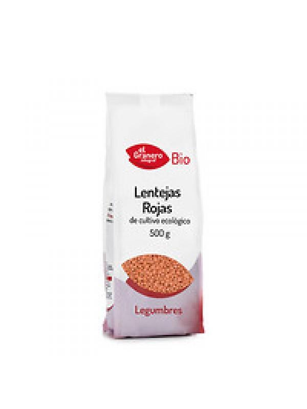 LENTEJAS ROJAS 500GR BIO - EL GRANERO INTEGRAL - 8422584018288