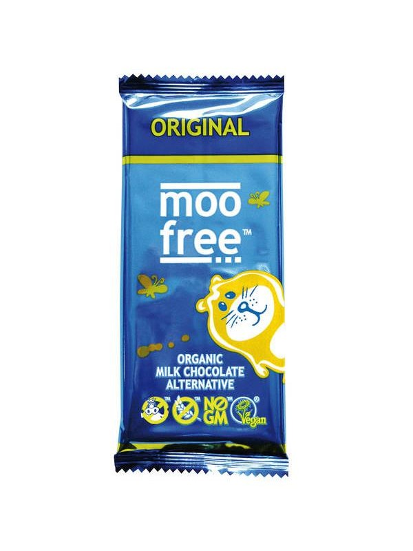 TABLETA DE CHOCOLATE ORIGINAL  BIO 100 GR - MOO FREE - 5060235830037