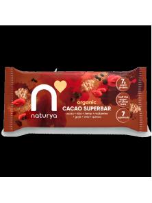SUPERBAR CACAO 40GR BIO - NATURYA - 5060238481007