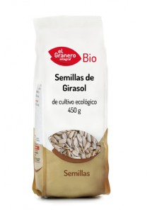 SEMILLAS DE GIRASOL 450GR BIO - EL GRANERO INTEGRAL - 8422584018424