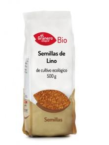 SEMILLAS DE LINO BIO 500GR - EL GRANERO INTEGRAL - 8422584018851