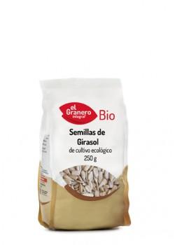 SEMILLAS DE GIRASOL BIO 250GR - EL GRANERO INTEGRAL - 8422584018707
