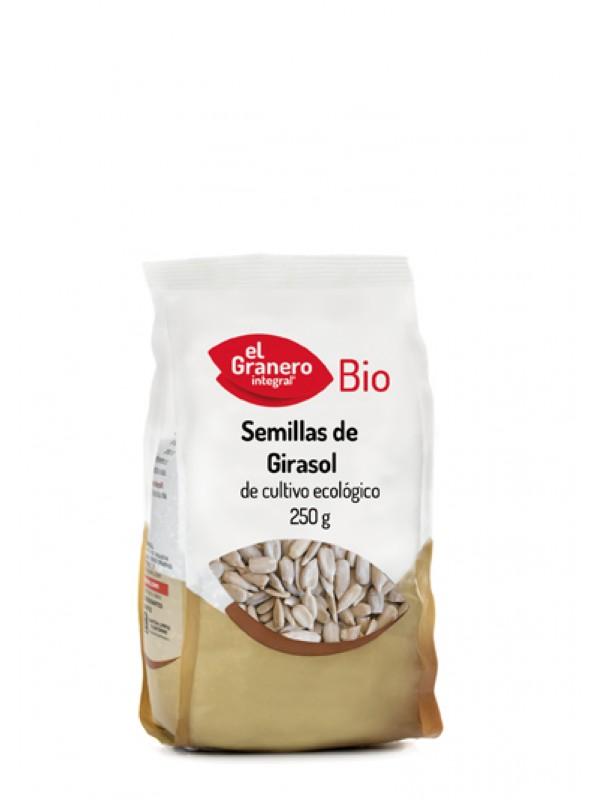 SEMILLAS DE GIRASOL BIO 250GR - EL GRANERO INTEGRAL