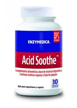ACID SOOTHE 30 CAPSULAS - ENZYMEDICA - 670480131213