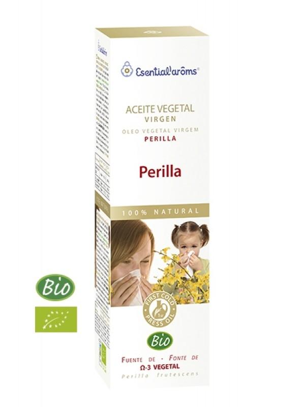ACEITE VEGETAL PERILLA 100ML BIO - ESENTIAL'ARÔMS - 8413568006513