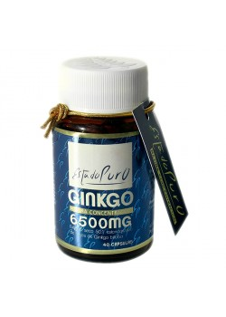 GINKGO 6500MG MAXIMA CONCENTRACION 40 CAPSULAS - ESTADO PURO - 8436005300678