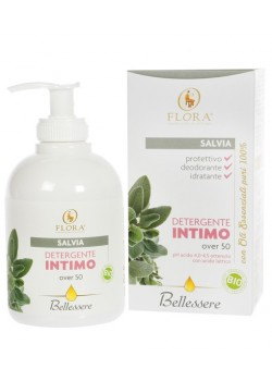 GEL INTIMO SALVIA - MENOPAUSIA +50 250ML BIO - FLORA LABORATORI DI NATURA - 8019359020531