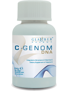 C-GENOM DNA 60 COMPRIMIDOS - GLAUBER PHARMA - 8033267460319