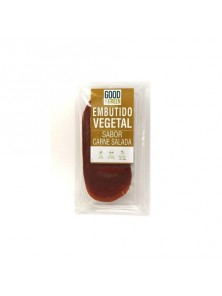 EMBUTIDO VEGETAL CARNE SALADA 90GR - GOOD & GREEN - 8053853070982