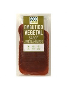 EMBUTIDO VEGETAL JAMON 90GR - GOOD & GREEN - 8053853070999