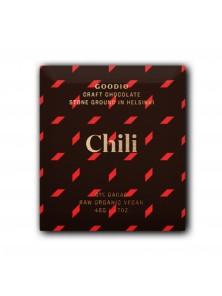 **CHOCOLATE RAW CHILI 48GR BIO - GOODIO - 6430049204840