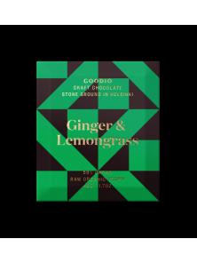 CHOCOLATE RAW GINGER LEMONGRASS 48GR BIO - GOODIO - 6430049205632