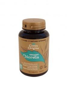 CHLORELA 180 CAPSULAS BIO - GREEN ORIGINS - 5060426630347