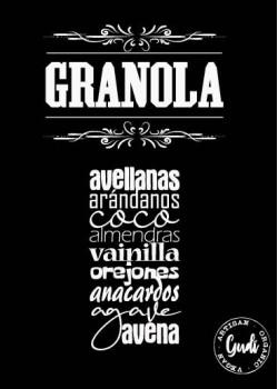 GRANOLA PREMIUM 300GR BIO - GUDI FOODS - 8437018829002