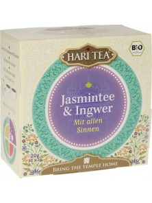 INFUSION JAZMIN JENGIBRE 10 SOBRES - HARI TEA - 8717853493355