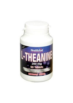 L TEANINA 60 COMPRIMIDOS - HEALTH AID - 5019781012756