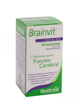 BRAIN VIT 60 COMPRIMIDOS - HEALTH AID - 5019781015153