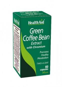 CAFE VERDE CON CROMO 60 CAPSULAS - HEALTH AID - 5019781012596