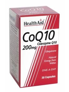CO-ENZIMA Q10 200MG 30 CAPSULAS - HEALTH AID - 5019781015535