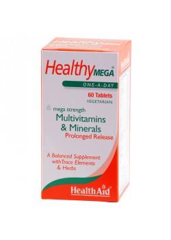 HEALTHY MEGA 60 COMPRIMIDOS - HEALT AID - 5019781014255