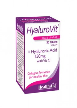 HYALUROVIT 150MG 30 COMPRIMIDOS - HEALTH AID - 5019781011247