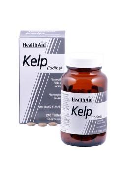 KELP NORUEGO (IODO) 240 COMPRIMIDOS - HEALTH AID - 5019781020805