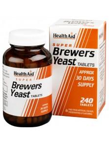 LEVADURA DE CERVEZA 240 TABLETAS - HEALTH AID - 5019781010714