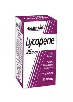 LICOPENO 25MG 30 COMPRIMIDOS - HEALTH AID - 5019781000180