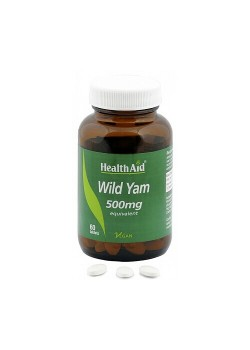 ÑAME SILVESTRE (WILD YAM) 60 COMPRIMIDOS - HEALTH AID - 5019781025909