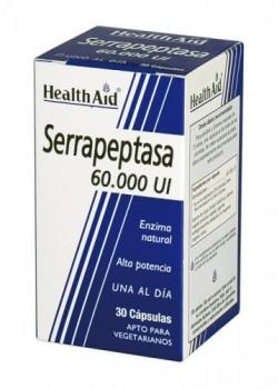 SERRAPEPTASA 60.000UI 30 CAPSULAS - HEALTH AID - 5019781000999