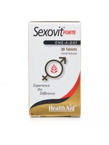 SEXOVIT FORTE 30 COMPRIMIDOS - HEALTH AID - 5019781015405