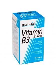 VITAMINA B3 'NIACINAMIDA' 250MG - HEALTH AID - 5019781010660