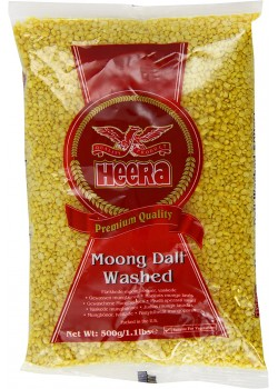 MOONG DALL WHASED 500GR - HEERA - 5031416090854
