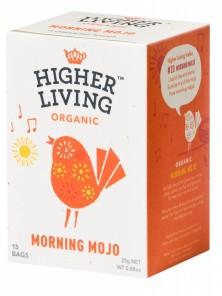 INFUSION MORNING MOJO 15 BOLSITAS BIO - HIGHER LIVING - 5060319129415