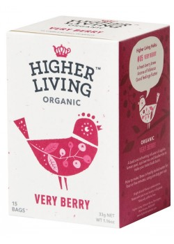 INFUSION VERY BERRY 15 BOLSITAS BIO - HIGHER LIVING - 5060319120047