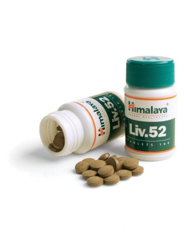 LIV.52 100 TABLETAS - HIMALAYA HERBAL HEALTHCARE - 8901138110710
