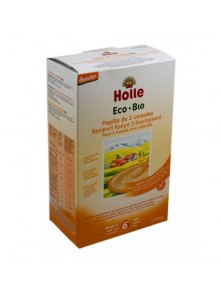 **PAPILLA 3 CEREALES 250GR BIO - HOLLE - 7640104953456