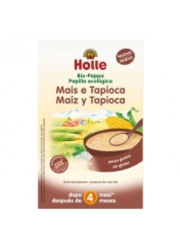 PAPILLA MAIZ TAPIOCA ECO 250GR - HOLLE - 7640104952237