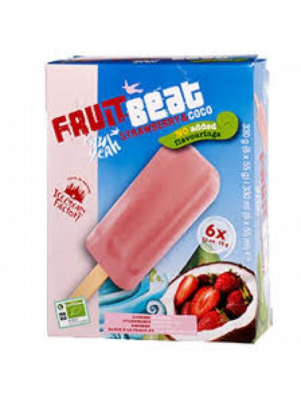 HELADO DE FRESA Y COCO 6 X 55ML BIO - ICE CREAM FACTORI - 8711521022212