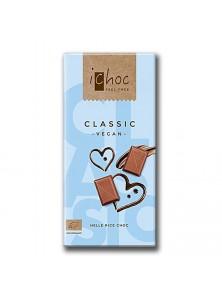 BARRITA DE CHOCOLATE CON BEBIDA DE ARROZ 80GR BIO - ICHOC - 4044889002966