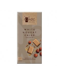 CHOCOLATE CON AVELLANAS 80GR BIO - ICHOC - 4044889002751