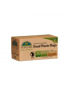 BOLSA DE BASURA COMPOSTABLE 11,4 LITROS 30 UNIDADES - IF YOU CARE - 770009250644