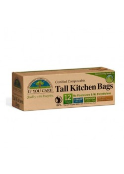 BOLSA DE BASURA COMPOSTABLE 49,2 LITROS - IF YOU CARE - 770009250651