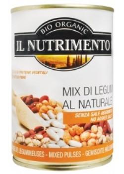 MIX LEGUMBRES BIO 400GR BIO - IL NUTRIMENTO - 8024749600446